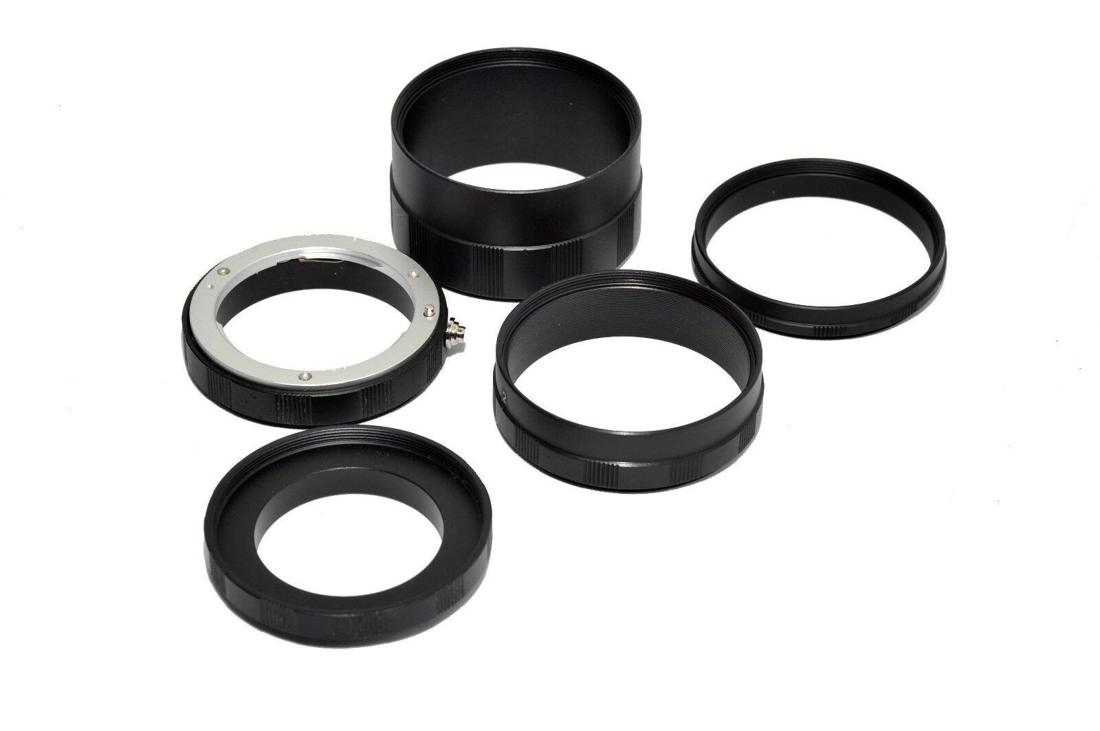 Macro Extension Tubes 5 Ring Set for Micro 4//3 mount DSLR cameras